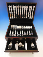 Burgundy by Reed & Barton Sterling Silver Flatware Set for 12 Service 54 pcs