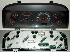 "Jeep Grand Cherokee 3.1 Dash Clock Speedo Instrument Cluster ""WJ"" 99-04 Dark"