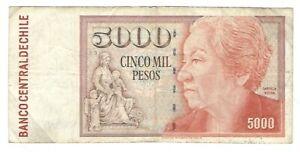Chile -   5,000 Pesos, 1998