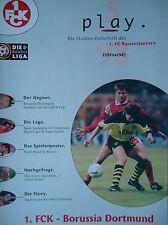 Programm 1997/98 1. FC Kaiserslautern - Borussia Dortmund