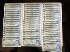 LOT of 87 1973 $1  ALL Different Prefixes Crow/Bouey Almost UNC LOOK at PIC