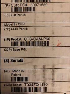 Cisco CTS-CAM-P60
