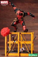Kotobukiya Marvel Deadpool ARTFX Statue - X-Men, Wolverine, Mutant, Reynolds