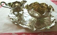 LOVELY JUGENDSTIL STAMPED WMF SILVER PLATED COFFEE SET 3 PIECES CIRCA 1900