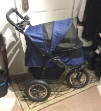 PET GEAR JOGGER NO-ZIP PET STROLLER PG8400NZ MIDNIGHT BLUE Up To 75lbs P/O XCLNT