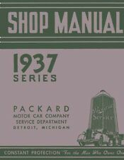 1937 Packard Shop Service Repair Manual (Fits: Packard)