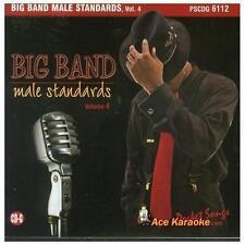 FREE US SHIP. on ANY 2 CDs! USED,MINT CD Big Band Male Standards: Karaoke: Big B