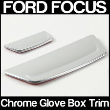 Ford FOCUS Mark 3 Mk III Glove Box Handle Chrome Trim x 2 Two Pieces