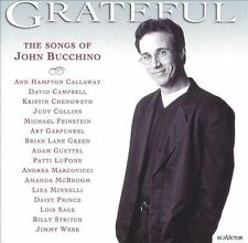 Grateful Songs of John Bucchino Judy Collins LuPone Chenoweth Marcovicci McBroom
