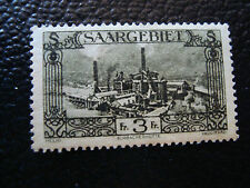 SARRE(allemagne) - timbre - yvert et tellier n° 119 n* (A6) stamp germany