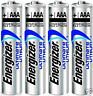 Energizer L92BP AAA Ultimate Lithium Batteries 4 Pack FRESH EXP 2038