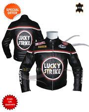 Giacche neri per motociclista pelle