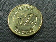 ZAIRE     5  Zaires    1987