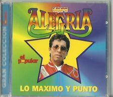 Grupo Alegria Lo Maximo Y Punta Latin Music CD