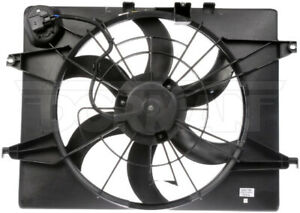 Dorman 620-795 Radiator Fan Assembly Without Controller For 11-13 Kia Optima