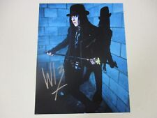 MURDERDOLLS WEDNESDAY 13 AUTOGRAPHED SIGNED PHOTO 2 WITH EXACT SIGNING PIC PROOF