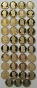2007S-2016S ~ 39 PRESIDENTIAL PROOF DOLLARS COMPLETED SET COLLECTION US COIN