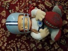 "dallas cowboys huddles 1983 12"" tudor mascot large 12 inches pennant figure"