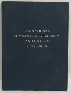 THE NATIONAL COMMEMORATIVE SOCIETY 1st 50 ISSUES NUMISMATIC MEDALS BOOK