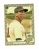 2019 Topps Allen & Ginter Gold #97 Rafael Devers Boston Red Sox