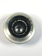 Vintage SOM Berthiot Cinor Special Camera Lens No. 522612