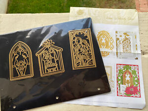 New! Anna Griffin Mini Nativity Dies Set, Christmas Card Making, Holiday Crafts