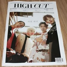 HIGH CUT VOL.196 WINNER T-ARA HYOMIN KOREA MAGAZINE TABLOID NEW