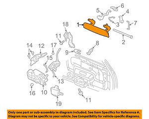 GM OEM Liftgate Tailgate Hatch-Handle 88980651