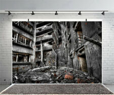 Abandoned Buildings Photography Backdrop Studio Photo Props Vinyl Background 8x6
