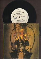 """Billy Idol - Cradle of Love / 311 Man  - 1990 7"""" picture sleeve single 45rpm"""