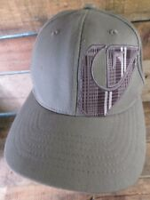 QUICKSILVER Mountain Wave Grey Size S/M Fitted Adult Cap Hat