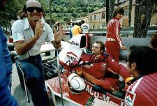 Jochen MASS SIGNED Photo Autograph AFTAL COA Texaco Marlboro F1 GP RARE