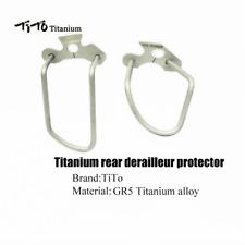 TITO Bike Bicycle Titanium Alloy Rear Derailleur Chain Stay Guard Gear Protector