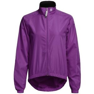 Canari 2705 Womens Cycling Full Zip Microlight Shell Jacket Imperial Purple