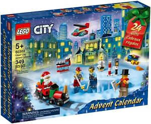 LEGO® (60303) City Advent Calendar 2021 New Sealed - Fast Dispatch  Free P&P