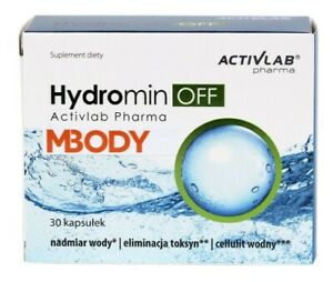 Hydromin OFF 30 cap - elimination of excess water from the body - hydrominum