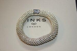 Original Links of London 925 Silber Brausen Star XL Armband - Größe S