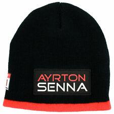 Ayrton Senna McLaren F1 Beanie 3x World Champion (Official Hat, Adult Size)