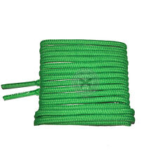 Mr Lacy Roundies - Kelly Green Round Shoelaces - 130cm Length 4mm Width