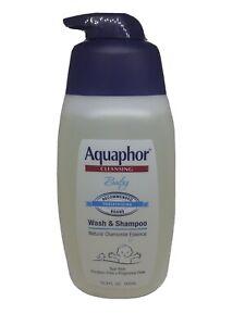 Aquaphor Baby Wash And Shampoo - Mild, Tear-Free 2-In-1 Solution For Babys Sensi