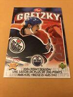 Wayne Gretzky 1999 Upper Deck Post Cereal Card Edmonton Oilers