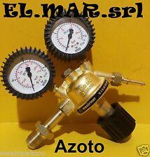 Riduttore di pressione AZOTO in ottone con manometro gas compresso