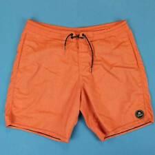 Men's BILLABONG Board Shorts Size 36 Chameleon Orange Water Swim Trunks