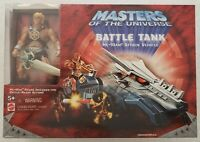 MASTERS OF THE UNIVERSE BATTLE TANK + EXCLUSIVE MALTESE CROSS VERSION HE-MAN