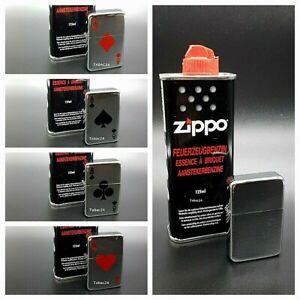 Benzin - Feuerzeug mit Zippo Benzin verschiedene Motive