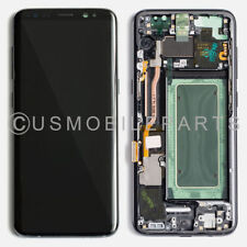 USA LCD Display Touch Screen Digitizer + Frame Replacement For Samsung Galaxy S8