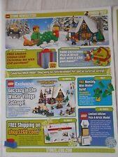 LEGO newsletter negozio NOVEMBRE 2012