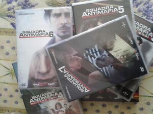 SQUADRA ANTIMAFIA Serie Tv 7 Cofanetti 32 DVD Stagioni 1-7 NUOVI SIGILLATI