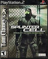 Tom Clancy's Splinter Cell - Sony PlayStation 2 PS2