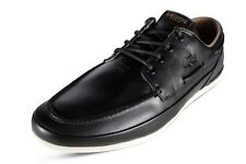 Lacoste Marina 119 6 CMA Men's Classic Leather Black Boat Shoes 7-37CMA0055454